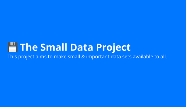 Small Data Project